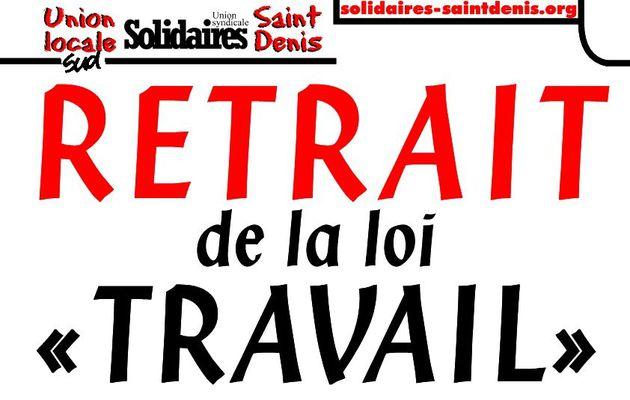 """Des visuels/affichettes de mobilisation contre la loi """"travail"""""""