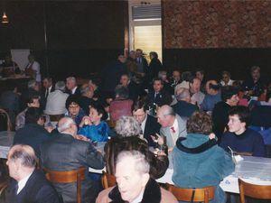 Sainte Barbe des Mineurs à Algrange en 1996 et bénédiction du drapeau de l'Amicale