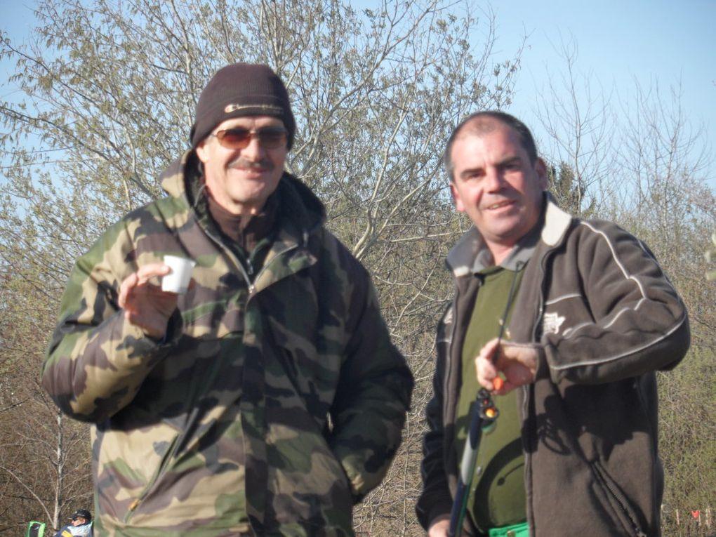 De l'alevinage à la plus grosse truite prise le 1er avril... par Mika!