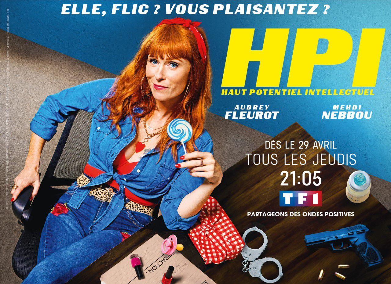 La série « HPI » avec Audrey FLEUROT dès le jeudi 29 avril sur TF1