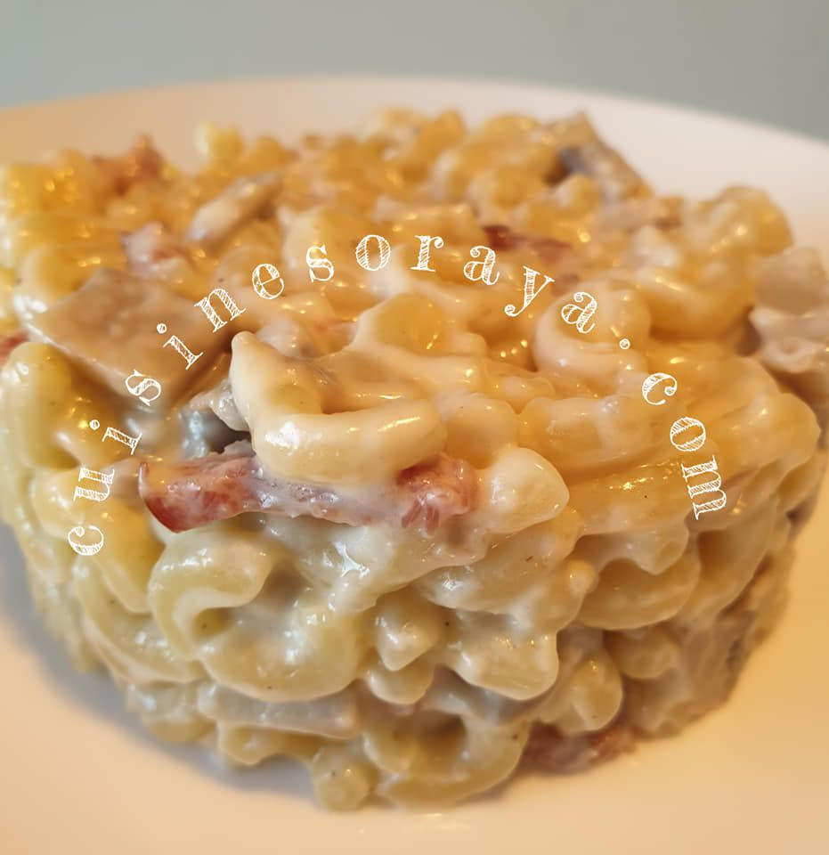 Coquillettes façon risotto Express