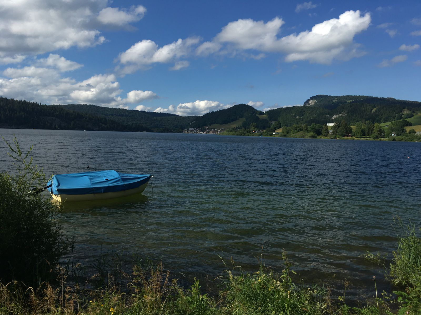 11 juillet 2021 : Tour du lac de Joux (Suisse)