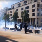 VIDEO. Loi Travail : un manifestant roué de coups par un policier à Caen