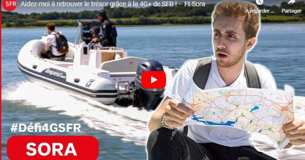 Opérateur mobile : SFR balance du Brand content sur YouTube