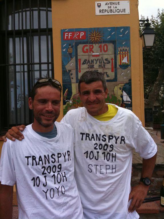Toutes les photos de la Transpyrénéenne 2009.