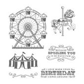 Carousel Birthday Clear-Mount Stamp Set by Stampin' Up!