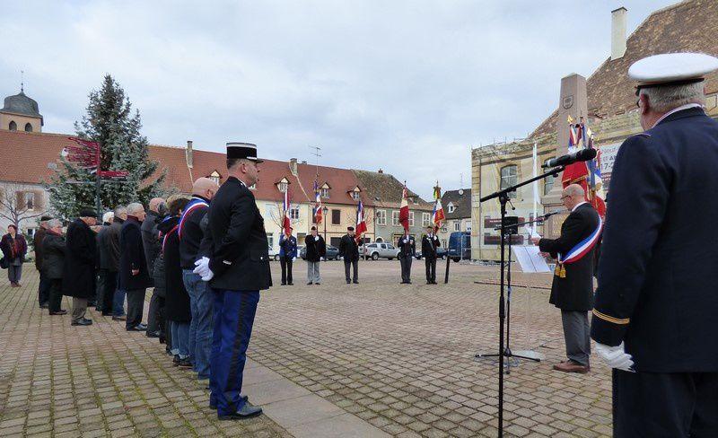 Cérémonie Commémorative du 73ème anniversaire de la Libération de Neuf-Brisach