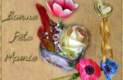 Cartes Bonne Fête Mamie , à imprimer gratuitement !