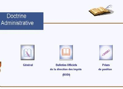 DOCTRINE ADMINISTRATIVE FISCALE