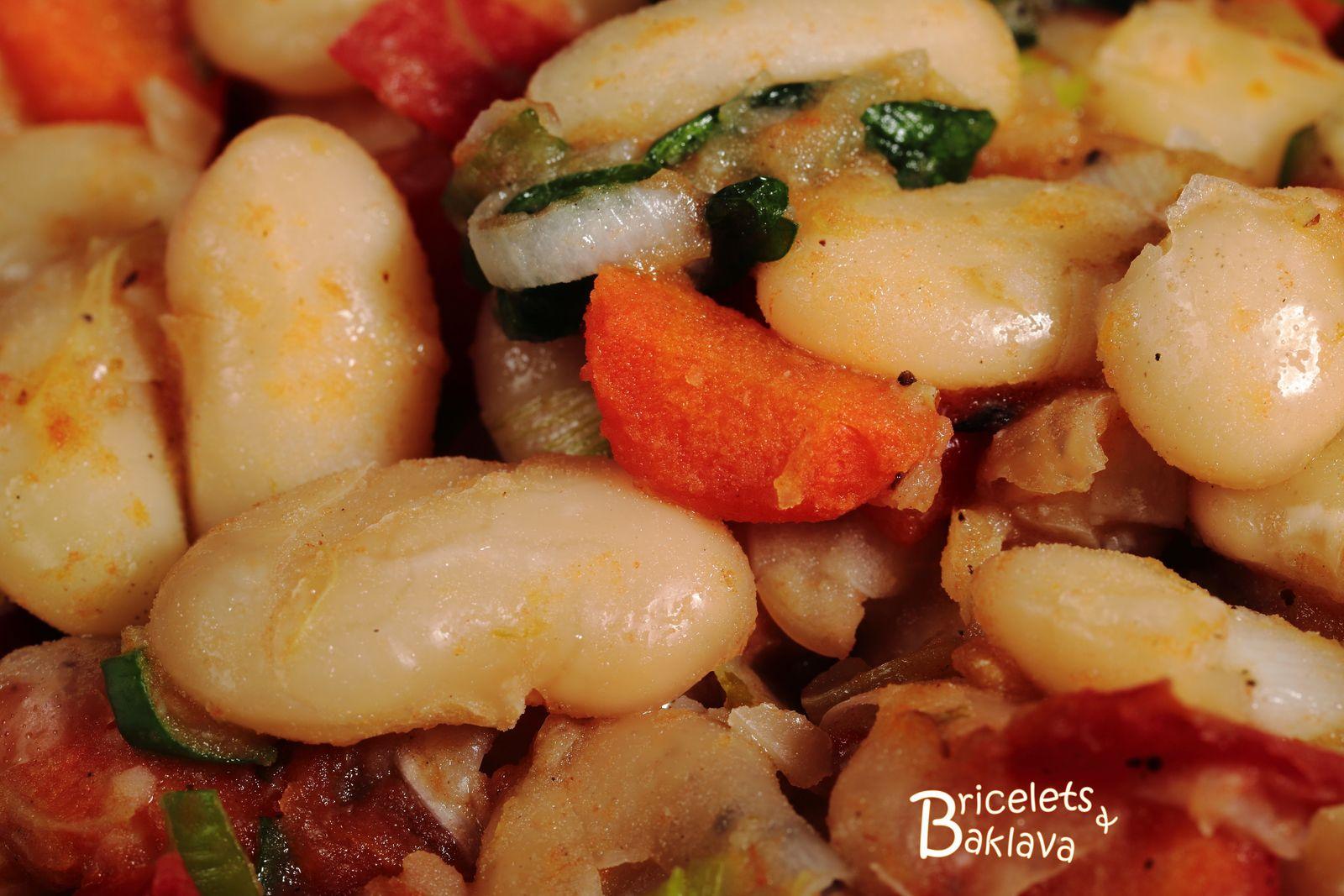 Plaki, haricots blancs à la tomate