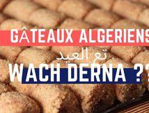 les gâteaux algériens pour el 3id  الحلويات الجزائرية للعيد