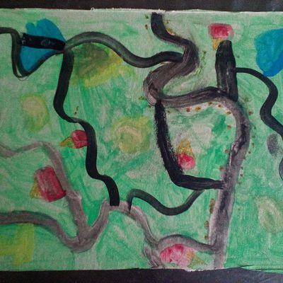 Ma petite fille fait son artiste - 49