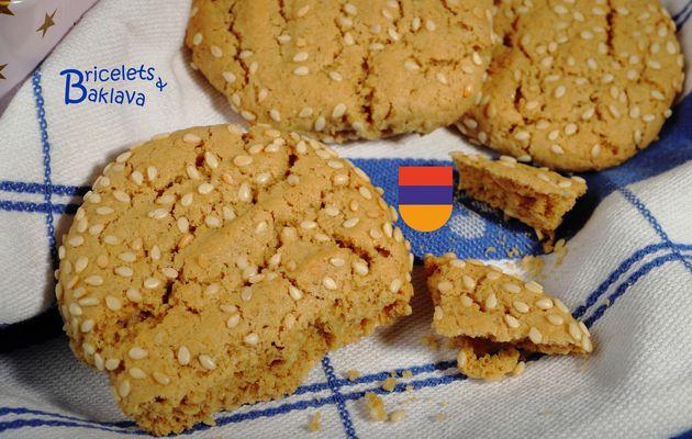 Biscuits arméniens au tahine