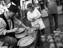 'Festival de artesanía en Hviezdoslavovo Namestie'