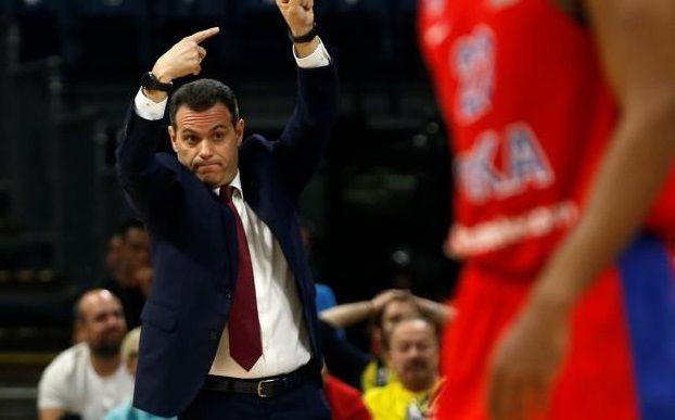 Dimitris Itoudis (CSKA Moscou) : «Le deuxième quart-temps nous a coûté cher»