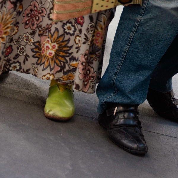 Visiteurs à la Fiac 2010, au Grand Palais.© Philippe Pons