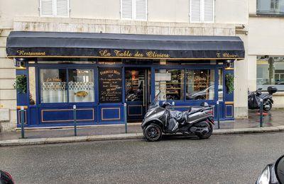 La Table des Oliviers (Neuilly sur Seine) : Méridional express