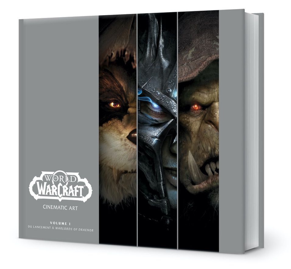 [REVUE LIVRE GAMING] WORLD OF WARCRAFT CINEMATIC ART Volume 1 aux éditions MANA BOOKS
