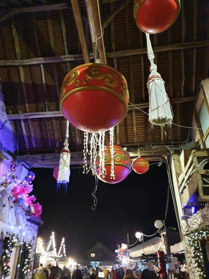 le marché de noel de janvry a eu lieu ce weekend et aura lieu le week end prochain