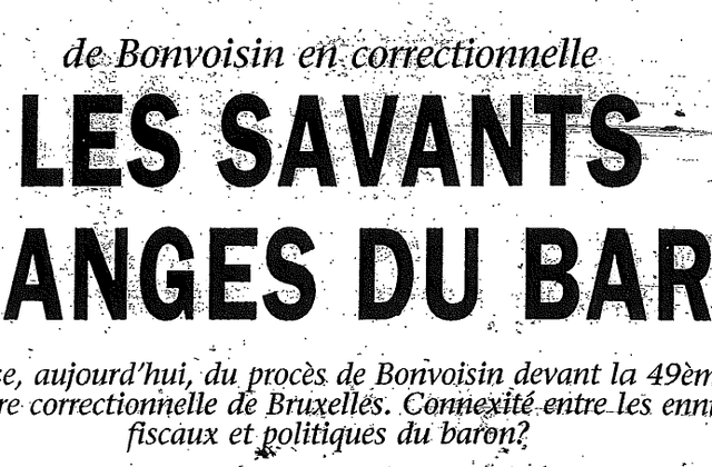 Les savants mélanges du baron