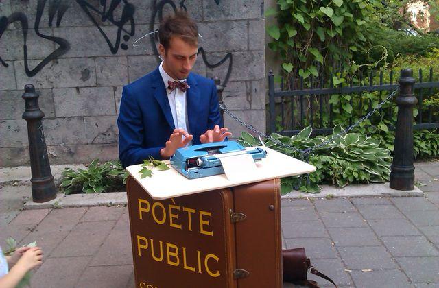 L'énigmatique poète de rue