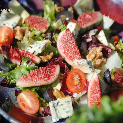 Salade d'automne .
