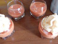 Crème de tomate cliquer sur les photos.