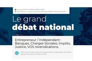 #LeGrandDébat : (ex) Entrepreneurs, Indépendants, Professions Libérales...exprimez-vous sans tabous