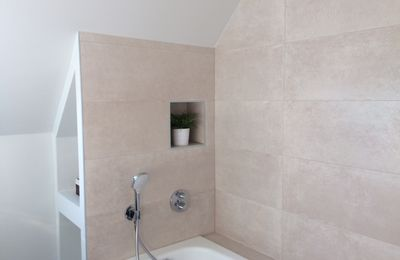 Une salle de bains toute en beauté