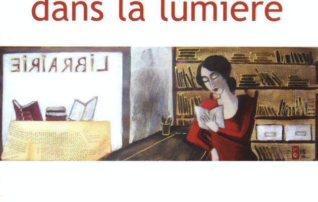 """""""Jolie libraire dans la lumière"""", F. Andriat"""
