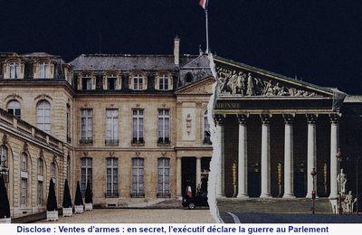 Le double jeu du gouvernement français sur la transparence et le contrôle des ventes d'armes françaises