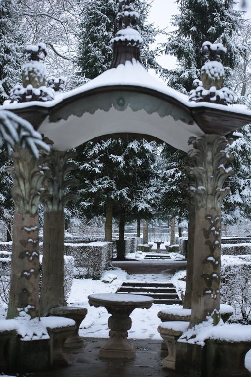 Impressionen Winteridylle im Veitshöchheimer Hofgarten