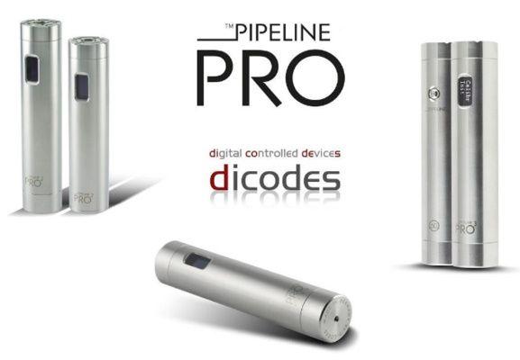 Les légendes de la vape - Mod - Pipeline Pro de chez Dicodes