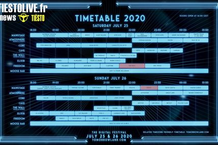 Tiësto, alias VER:WEST, will perform for the first time at Tomorrowland Virtual, july 25, 2020