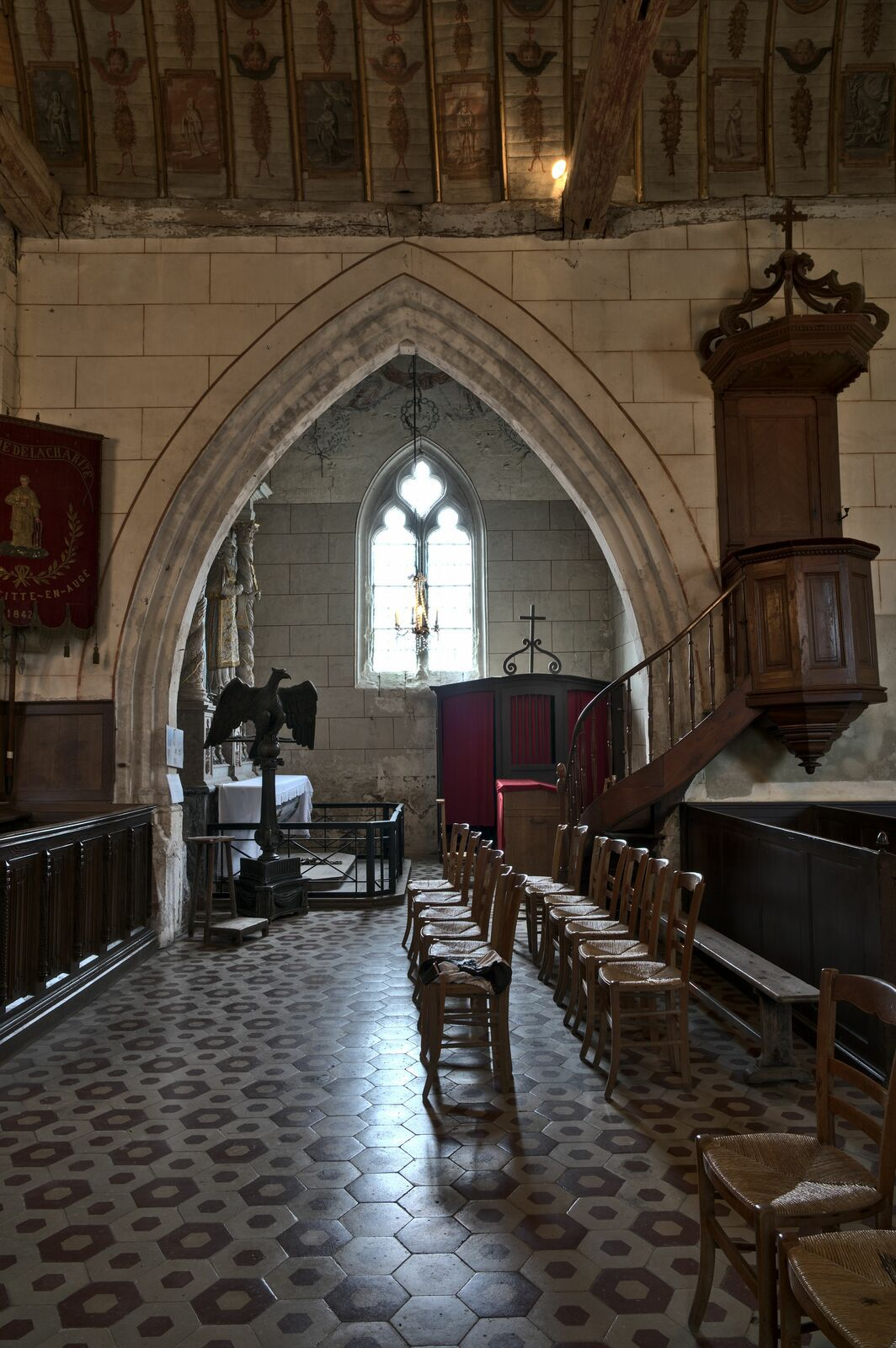 Eglise Saint-Denis, Pierrefitte en Auge, calvados