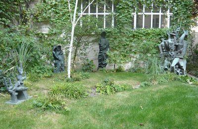 La Forêt Humaine, jardin du musée Zadkine