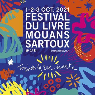 Festival du Livre de Mouans-Sartoux - 1, 2, 3, octobre 2021
