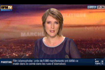 [2012 09 22] LUCIE NUTTIN - BFM TV - WEEK-END 360 @21H30