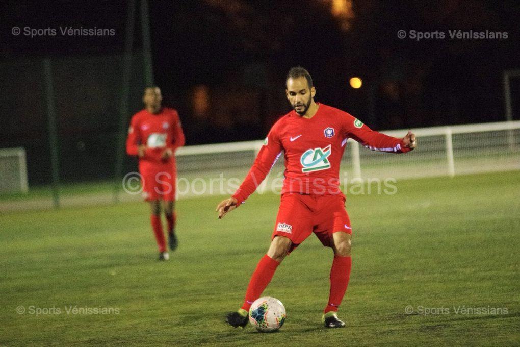 Nidal Guelbi le capitaine vénissian auteur de l'unique but de la rencontre