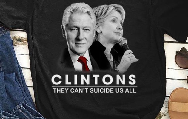 fficial Clinton They Can't Suicide Us All shirt