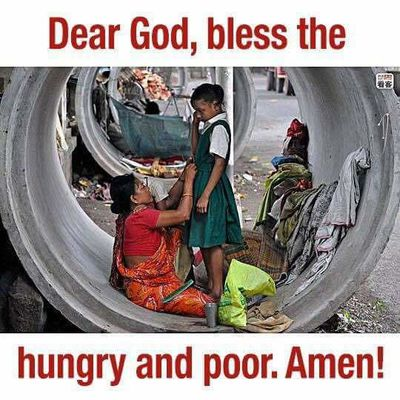 Give Food To The Poor