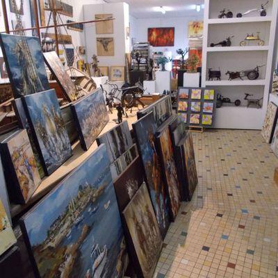 Atelier ouvert...sur rdv pendant les travaux rue de la gare, jusqu'au 30 juillet