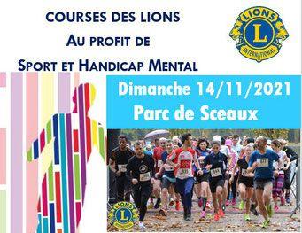 La course des Lions de l'Espoir 2021