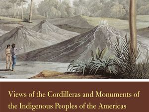 """Books on the subject: """"Views of the Cordilleras and Monuments of the Indigenous Peoples of the Americas"""" - """"Volcanoes and Caverns"""" / Ed Nelson and sons - One click to enlarge."""