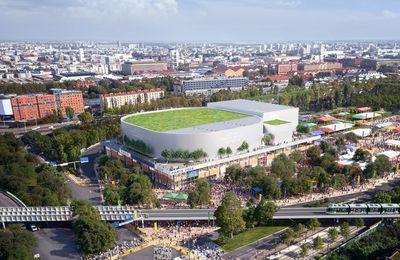 Le marché de l'Arena 2 attribué à Bouygues