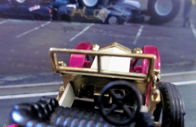 Y-10-3. ROLLS ROYCE SILVER GHOST 1906 MATCHBOX YESTERYEAR 1/51.