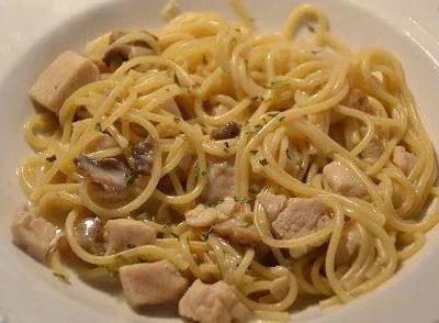 Recette cookeo Spaghettis poulet citron