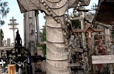 Lituanie : Siauliai : la Colline des Croix