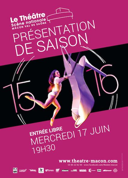 Présentation saison 2015-2016 Scène Nationale