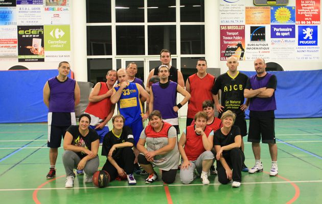 Le groupe basket mixte adulte
